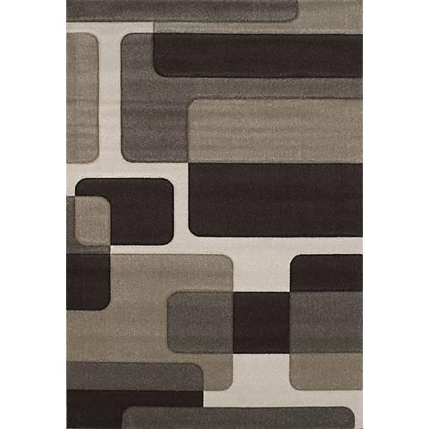 Townshend Sonar 01775 Multi Color Area Rug