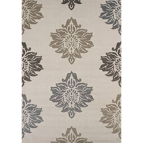 Townshend Souffle Cream 01890 Area Rug