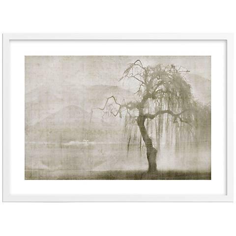 "The Listening Landscape 30"" Wide Framed Photo Wall Art"