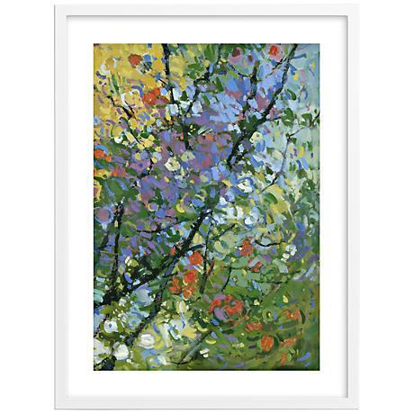 """Springtide I 30"""" High Framed Wall Art"""