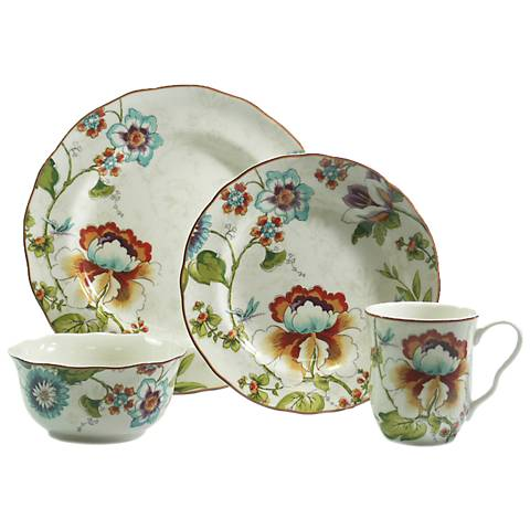 222 Fifth Bella Vista 16-Piece Dinnerware Set