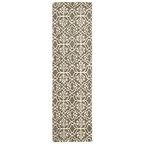 Kaleen Evolution EVL01-82 Light Brown Wool Area Rug