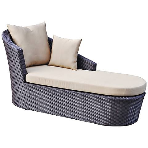 Opulence Collection Tango Wicker Poolside Sunbed