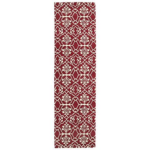 Kaleen Evolution EVL01-93 Berry Wool Area Rug