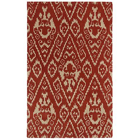 Kaleen Evolution EVL02-57 Salsa Wool Area Rug