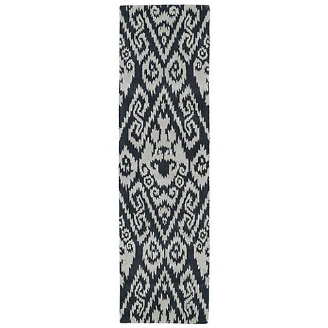 Kaleen Evolution EVL02-75 Gray Wool Area Rug