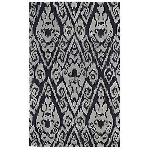 Kaleen Evolution EVL02-75 Gray Wool Area Rug
