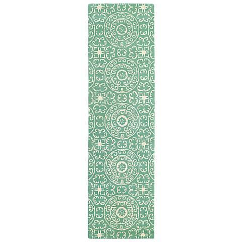 Kaleen Evolution EVL03-88 Mint Wool Area Rug