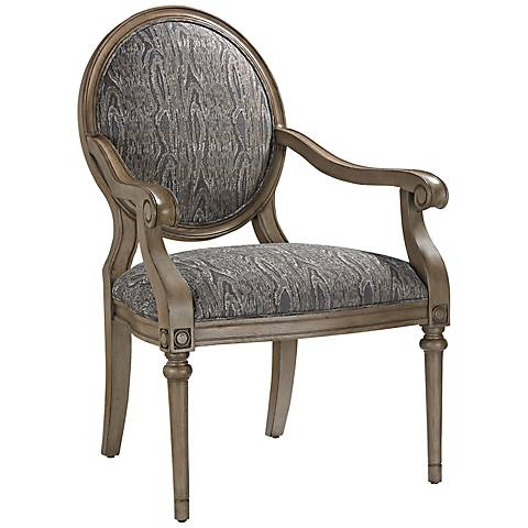 Luxe Collection French Gray Hand-Finished Armchair