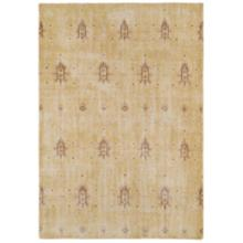 Kaleen Restoration RES01-05 8'x10' Gold Wool Area Rug