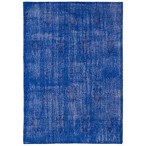 Kaleen Restoration RES01-17 Blue Wool Area Rug