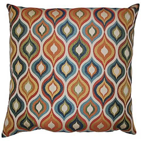 "Flicker 20"" Square Decorative Pillow"