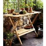 Brooktrails Outdoor Simple Potting Bench/Console Table