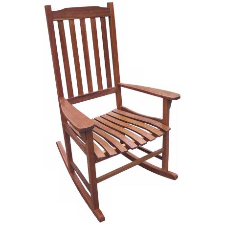 ... Natural Acacia Outdoor Traditional Rocking Chair - #5N293  Lamps Plus
