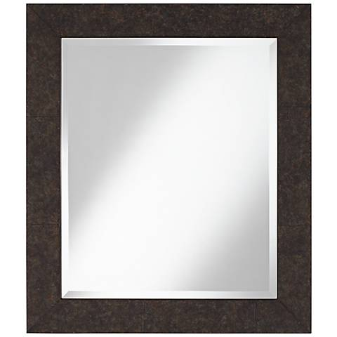 "Maybell 25 3/4"" x 29 3/4"" Mottled Wall Mirror"