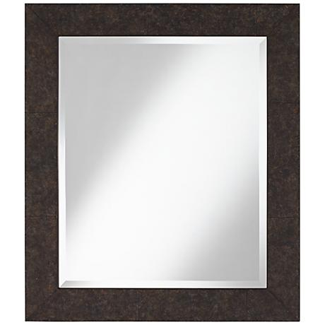"""Maybell 25 3/4"""" x 29 3/4"""" Mottled Wall Mirror"""