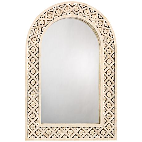 """Jamie Young Royal Palace 24"""" x 36"""" Arch Wall Mirror"""