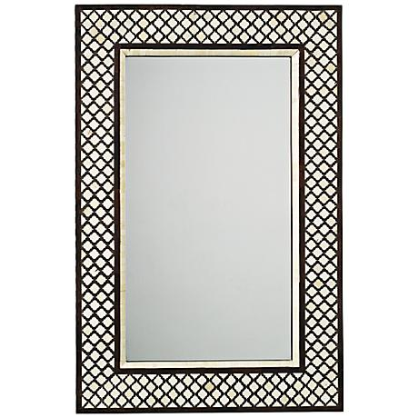 "Jamie Young Mughal 24"" x 36"" Rectangle Wall Mirror"