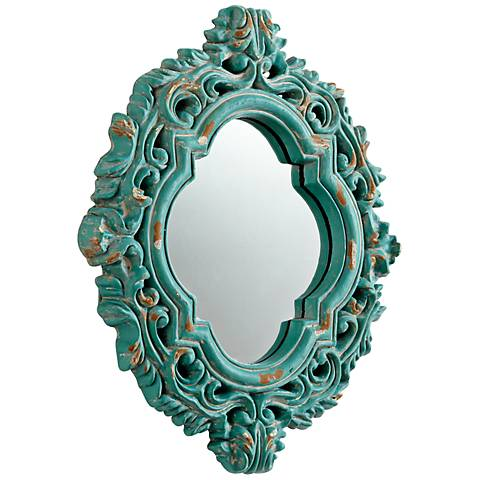 """Fairest of Them All 18 3/4"""" x 22 1/2"""" Wall Mirror"""