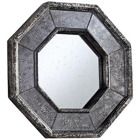 "Sparta 13 1/4"" x 13 1/4"" Octagon Wall Mirror"