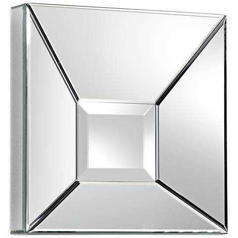 """Pentalloca 15 3/4"""" Square Wall Mirror"""