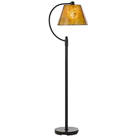 Cadiz Dark Bronze Metal Floor Lamp