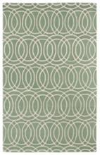 Kaleen Revolution REV02-88 8'x11' Mint Wool Area Rug