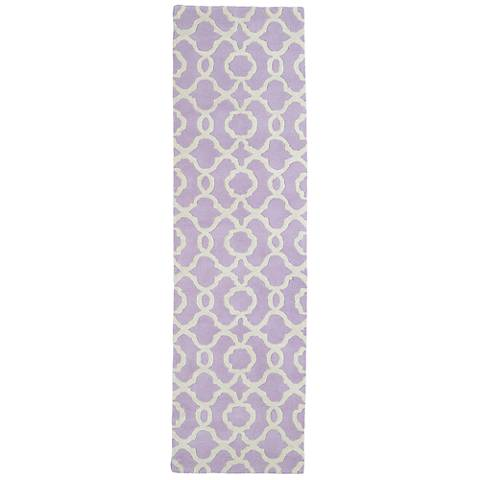 Kaleen Revolution REV03-90 Lilac Wool Area Rug