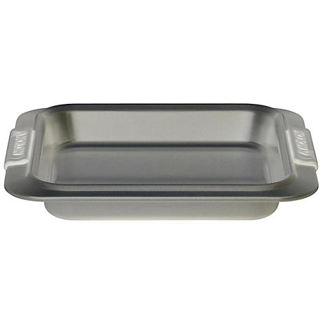 "Anolon Advanced Bakeware Gray 9"" Square Cake Pan"