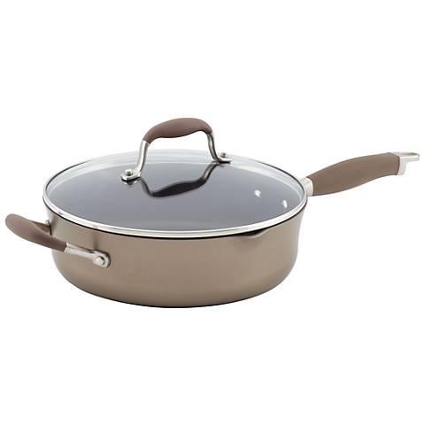 Anolon Advanced Bronze Nonstick Pour 4 Qt Saute Pan