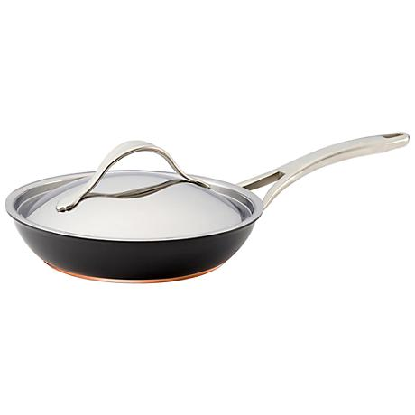 """Anolon Nouvelle Copper Nonstick 10"""" Covered French Skillet"""