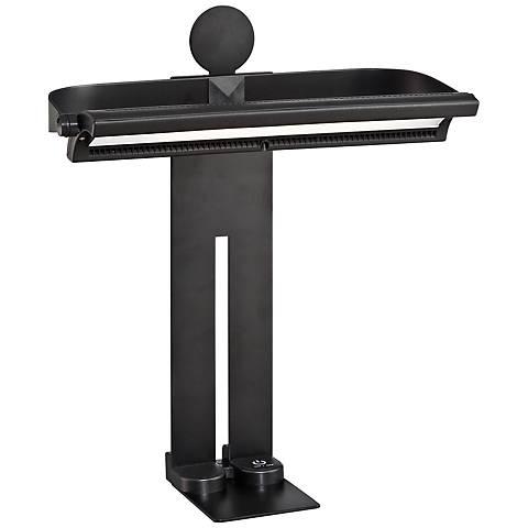 Lite Source Lanzo Black Modern LED Desk Lamp
