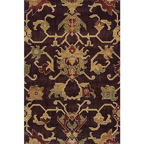 Dalyn Columbia CM31 Chocolate Area Rug