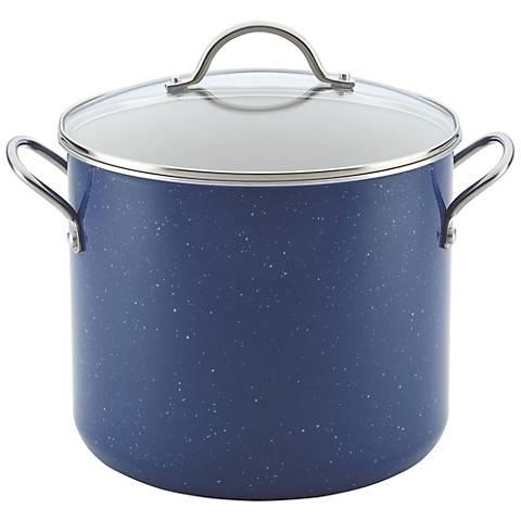 Farberware New Traditions Blue 12-Quart Covered Stockpot