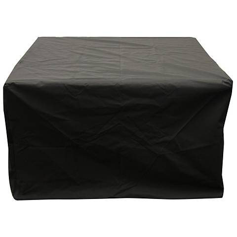 "Sierra Crystal Fire Pit 44"" Square Vinyl Cover"