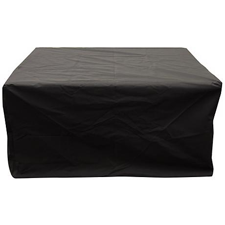 Napa Valley Black Multi-Model Rectangular Fire Pit Cover