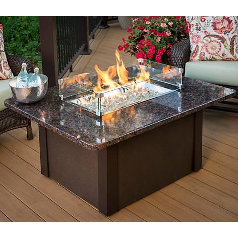 Grandstone Crystal Granite Table Top Fire Table