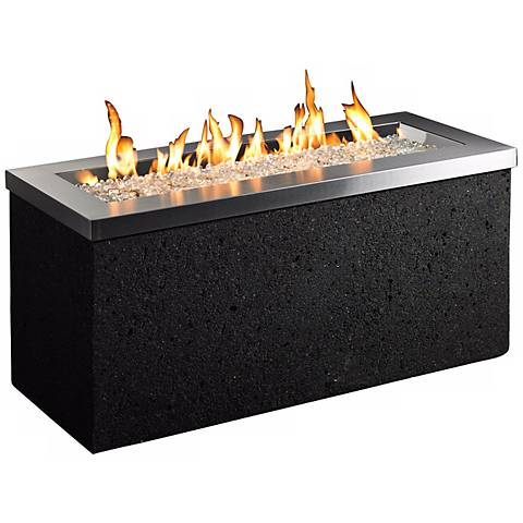 """Key Largo 48"""" Wide Tereno Stucco Outdoor Firepit"""