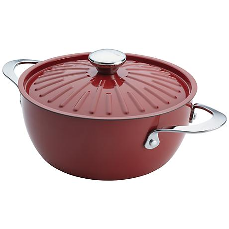 Rachael Ray Cucina Oven-To-Table 4 1/2-Quart Red Casserole