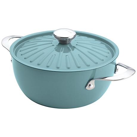 Rachael Ray Cucina Oven-To-Table 4 1/2-Quart Blue Casserole
