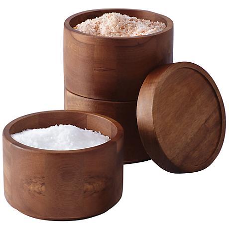 Rachael Ray Tools & Gadgets 3-Piece Stacking Salt Box