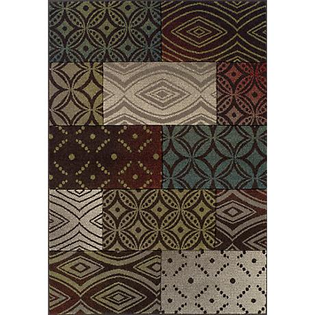 Dalyn Radiance RD611 Multi Colored Area Rug