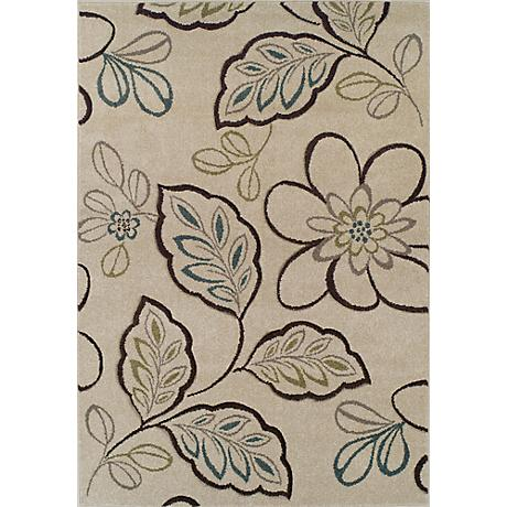 Dalyn Radiance RD1527 Ivory Area Rug