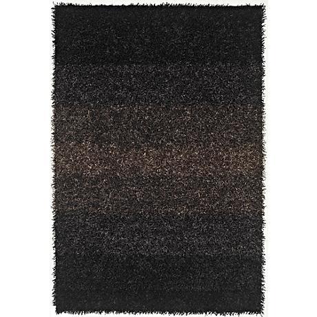 Dalyn Spectrum SM100 Black Shag Rug