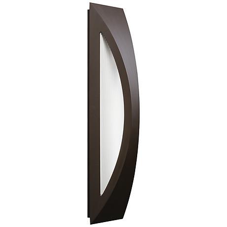 "Kichler Ceysa 24"" High Bronze LED Outdoor Wall Light"