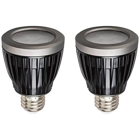 Kichler PAR20 Wet Location 7 Watt LED Light Bulb 2-Pack