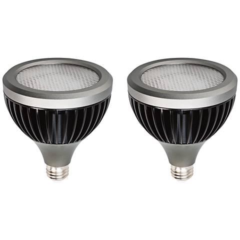 50W Equivalent 12W LED Long Neck 25-Degree PAR30 2-Pack