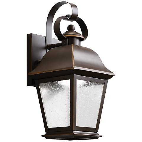 "Kichler Mount Vernon 12 1/2"" High LED Outdoor Wall Light"