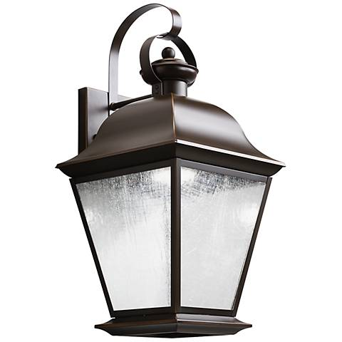 "Kichler Mount Vernon 19 1/2"" High LED Outdoor Wall Light"
