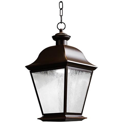 "Kichler Mount Vernon 18 1/2"" High LED Outdoor Pendant"